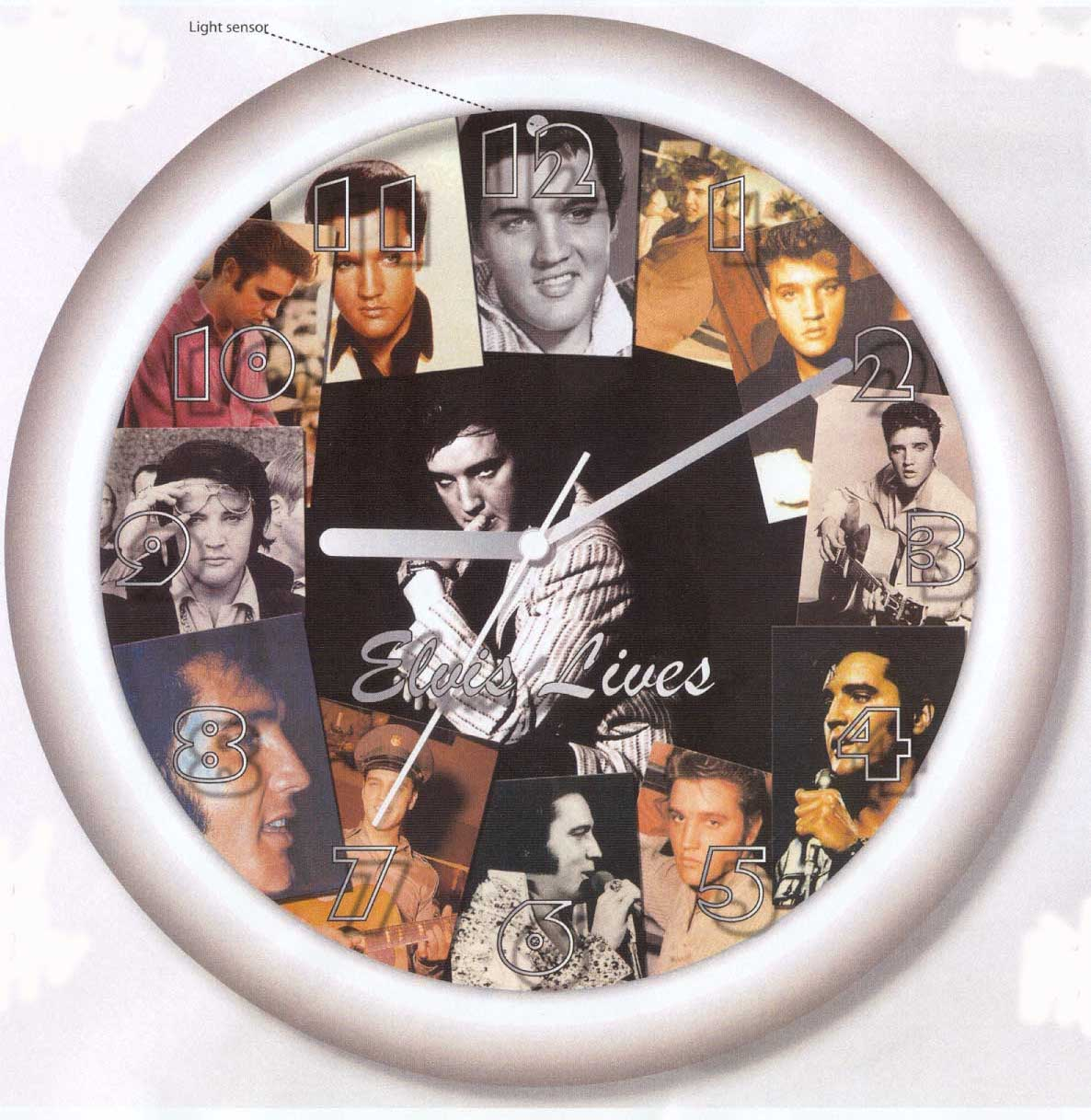 Elvis Talking Clock
