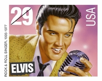 US Elvis stamp 1993