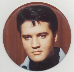 Large badge Elvis 60s