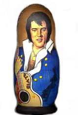 Elvis matrioshka doll 1