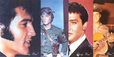 Elvis postcards